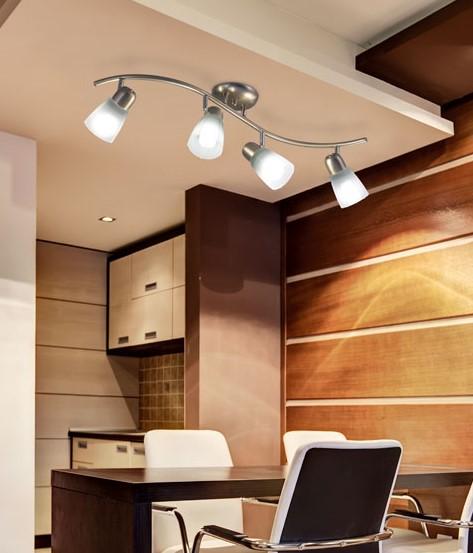 Aplique de techo kohen iluminacion kohen iluminacion - Iluminacion de techo ...