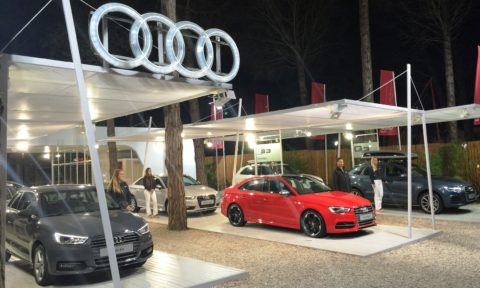 Concesionario Audi Iluminacion